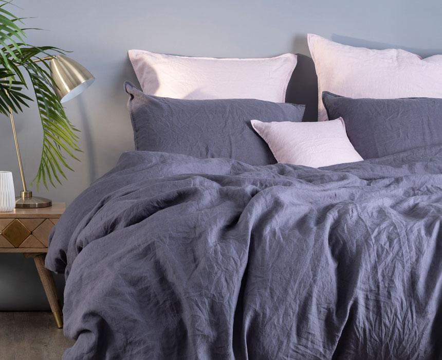 5 bonnes raisons d adopter un linge de lit en lin mon carr d co. Black Bedroom Furniture Sets. Home Design Ideas