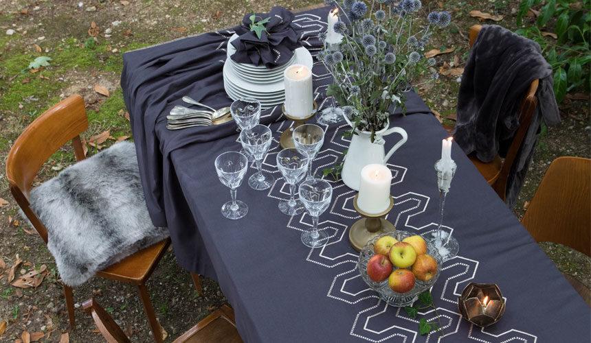 Quelle nappe pour décorer ma table de jardin ?