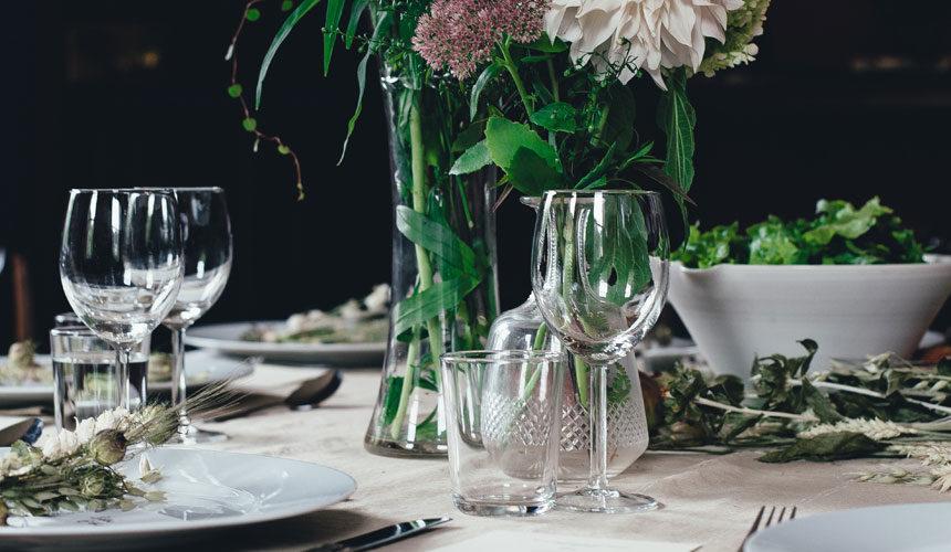 Quelle nappe pour une table en verre ?