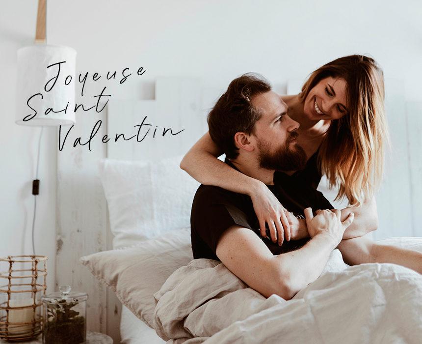 Saint-Valentin : déclarez votre flamme avec du beau linge !