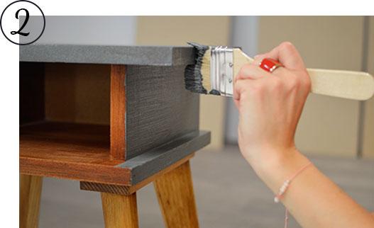 Atelier Diy La Table De Chevet Scandinave Mon Carre Deco