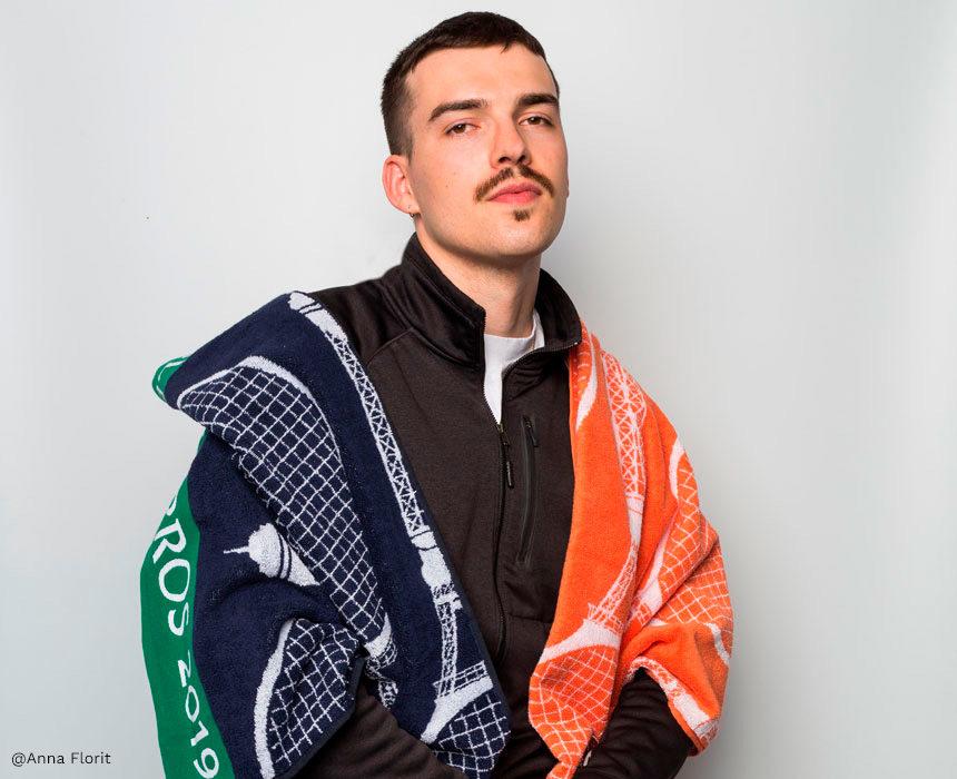 Rencontre avec Clément Viguié, créateur des serviettes Roland-Garros 2019