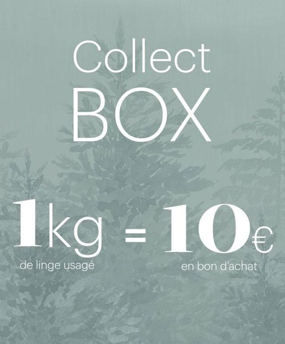 Collect Box : recyclez votre linge usagé pour gagner de l'argent