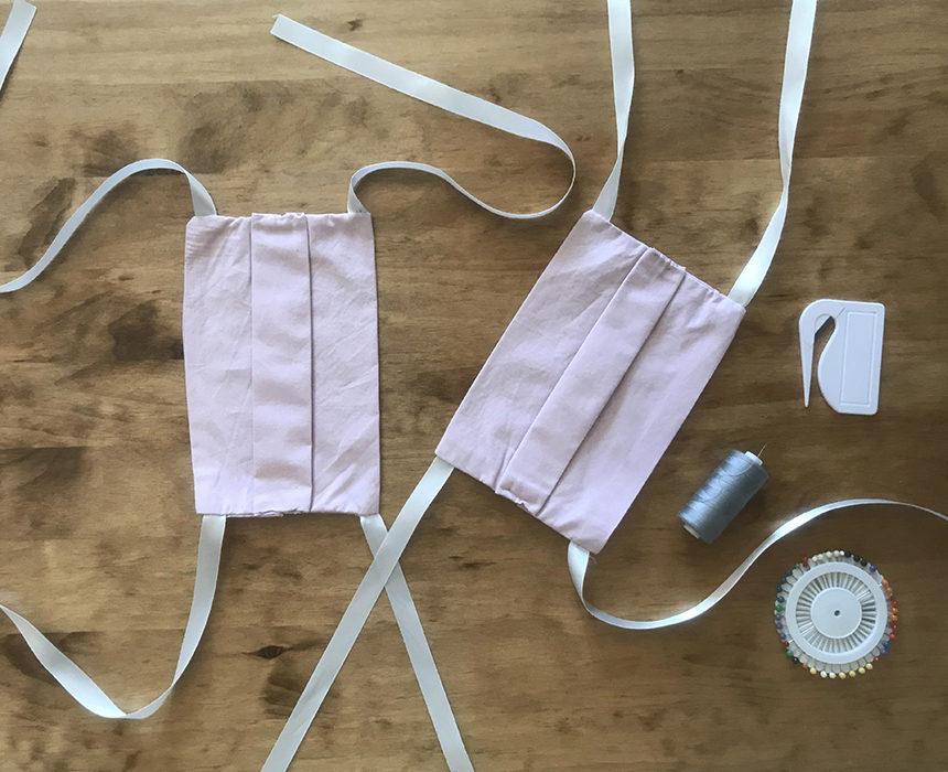 DIY : des masques à partir de vieilles taies d'oreiller