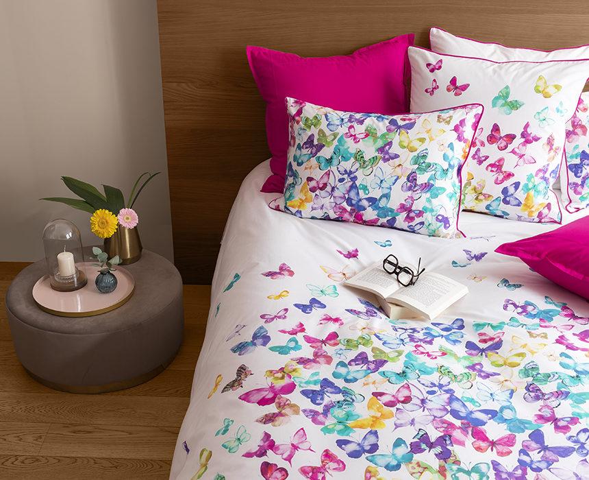 Déco chambre : nos parures colorées pour le printemps